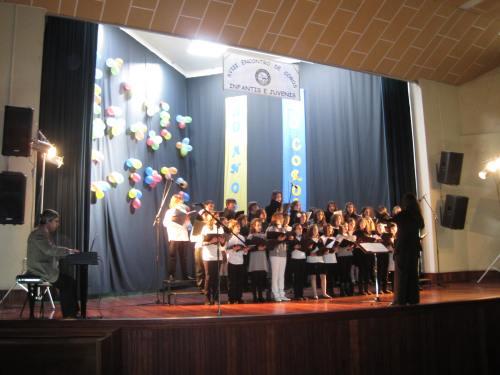 No XVIII Encontro de Coros Infantis e Juvenis de Setúbal