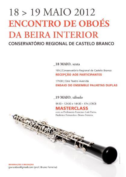 Encontro de oboés em Castelo Branco