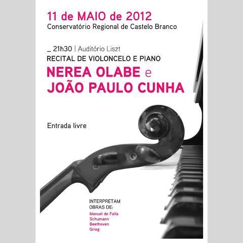 Concerto no próximo dia 11 de maio no CRCB