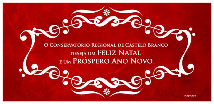 Boas Festas e Feliz Natal