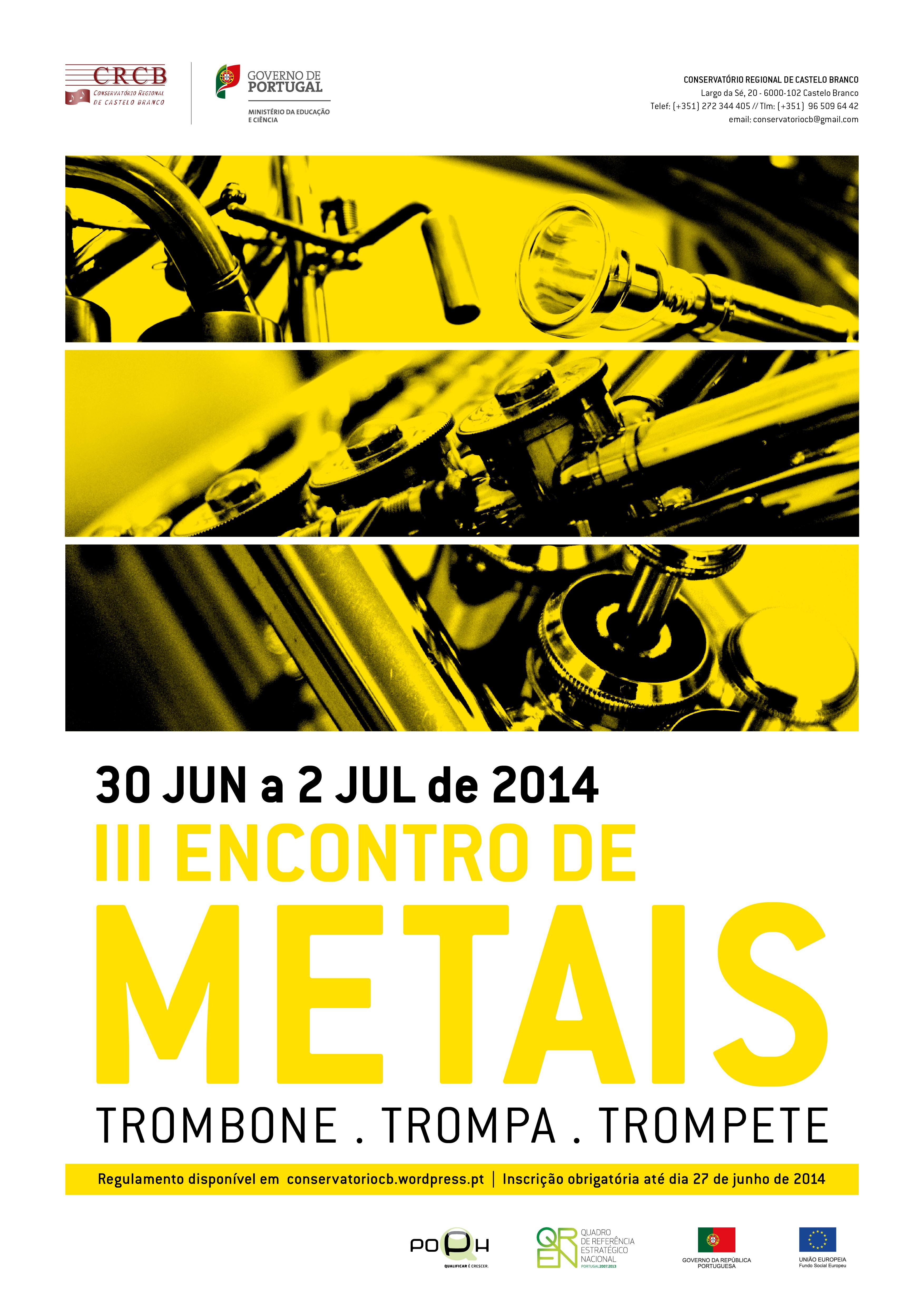 Encontro_Metais_2014 - cartaz