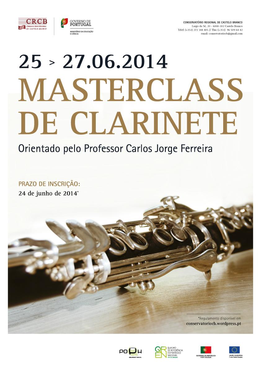 Masterclass Clarinete